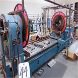 Herbert Arnold 60'' x 10' Glass Lathe w/ Torch Controls