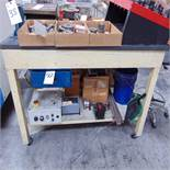 (Lot) Work Bench w/ Contents Underneath
