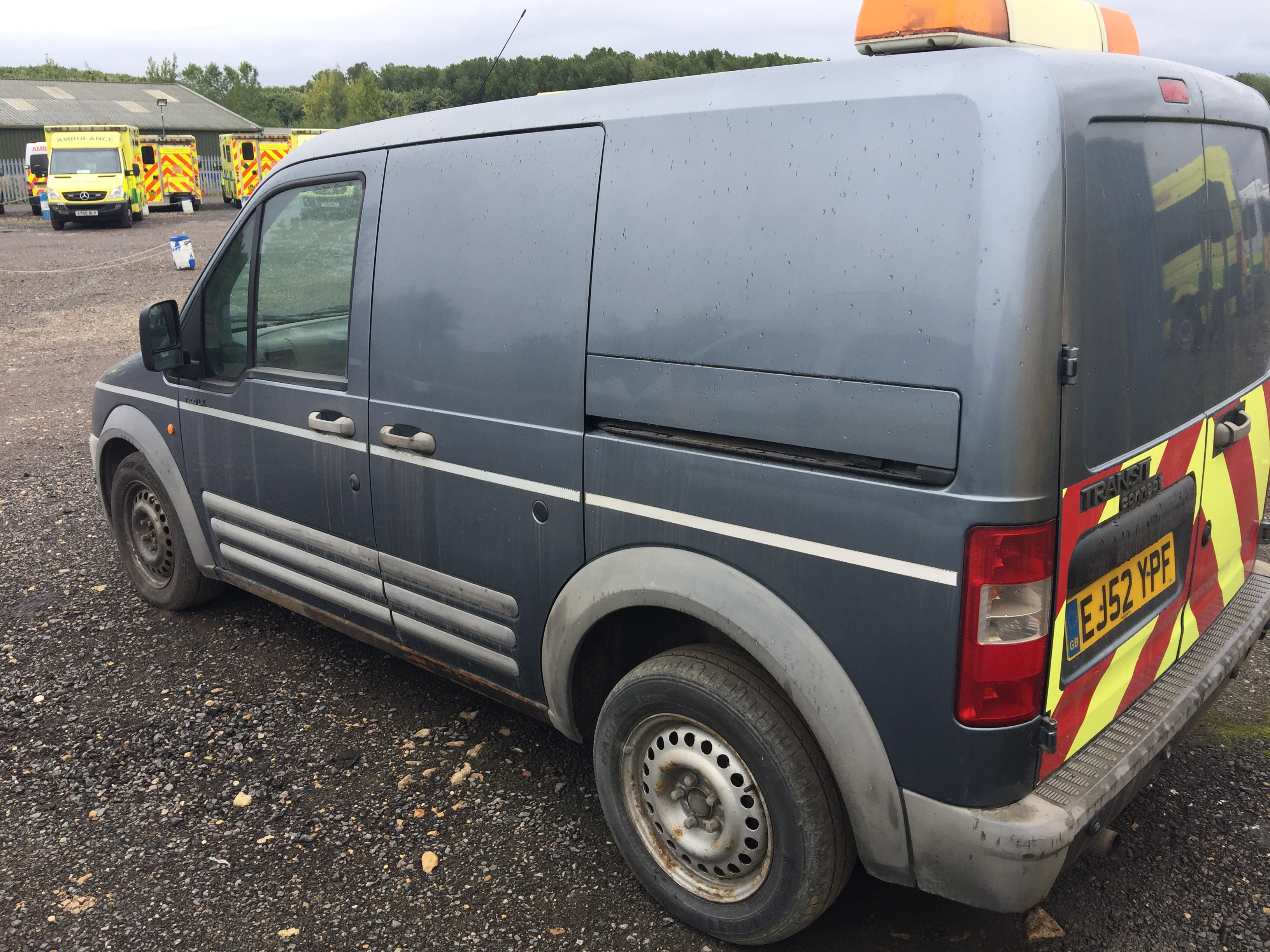 Lot 15 - Ford Transit Connect T200LX diesel panel van, registration No EJ52 YPF, recorded miles unknown, date