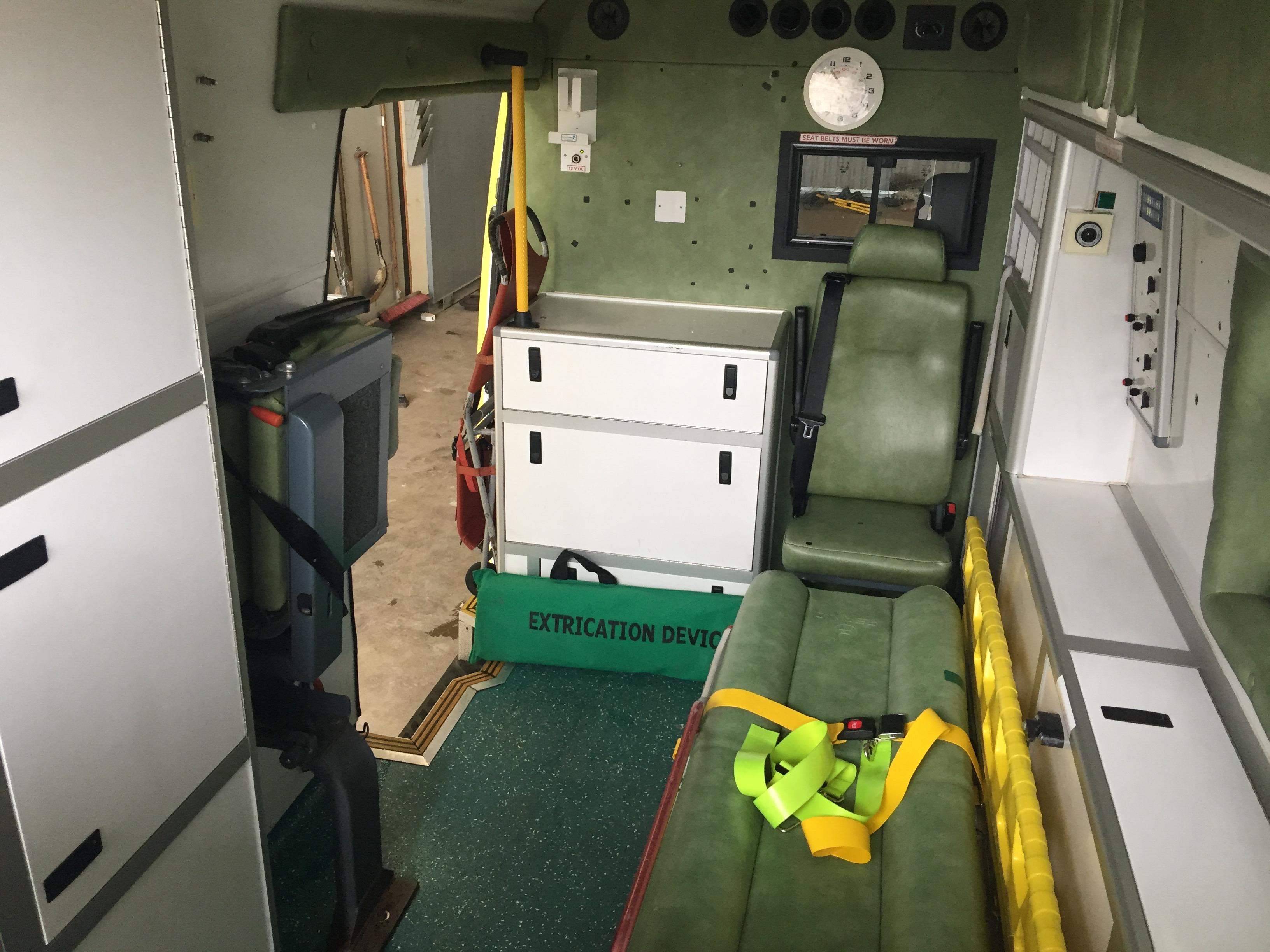 Lot 8 - Mercedes Sprinter standard body patient transfer ambulance Registration No VX56 LCK, 354172 recorded