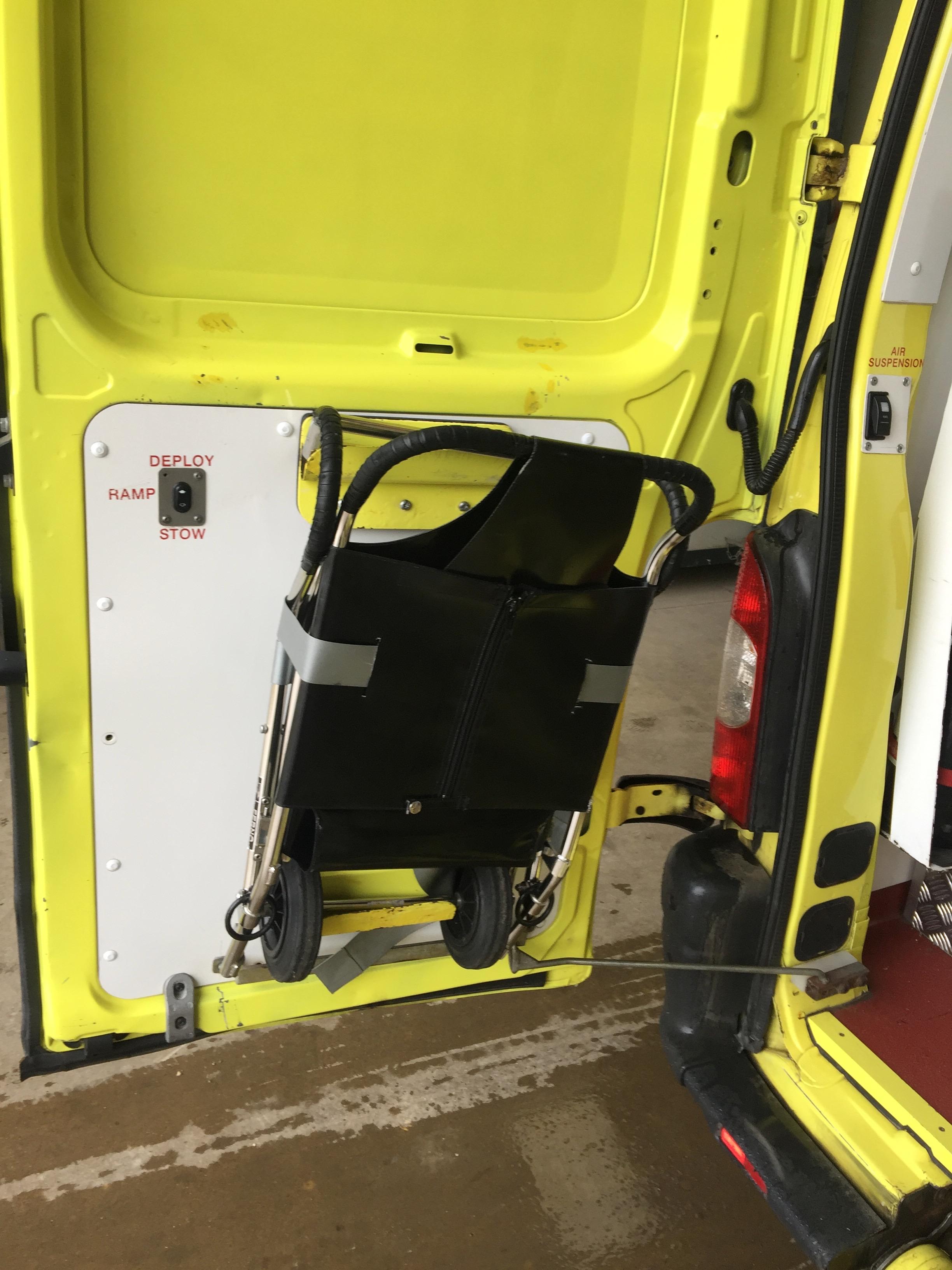 Lot 3 - Renault Master standard body HDU ambulance Registration No PK59 OGZ, 190855 recorded miles, date