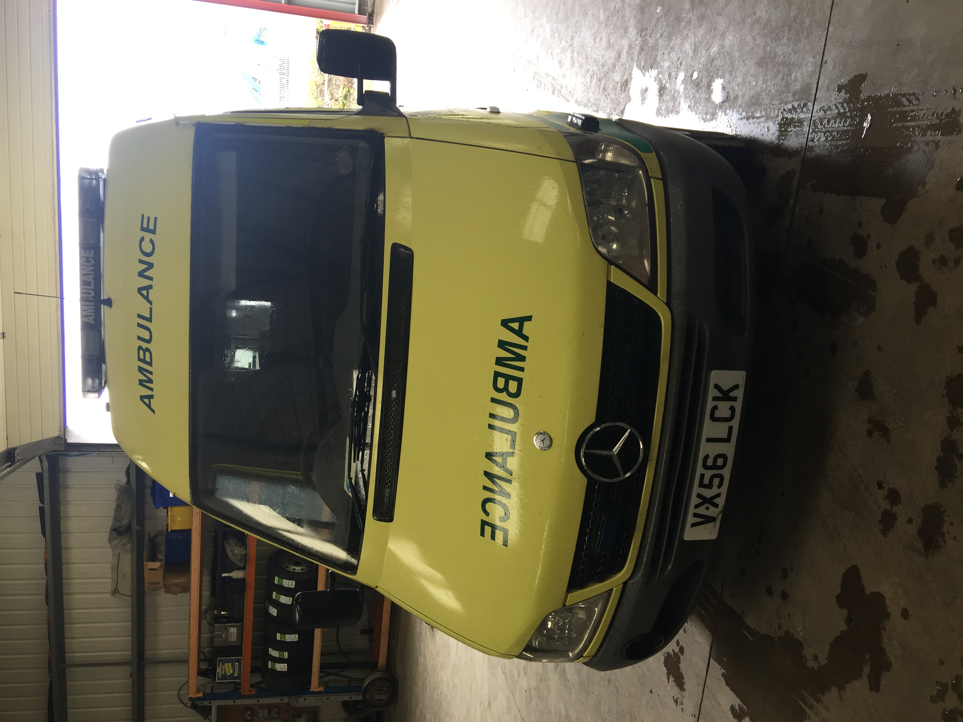 Lot 8 - Mercedes Sprinter standard body patient transfer ambulance Registration No VX56 LCK, 354172 recorded