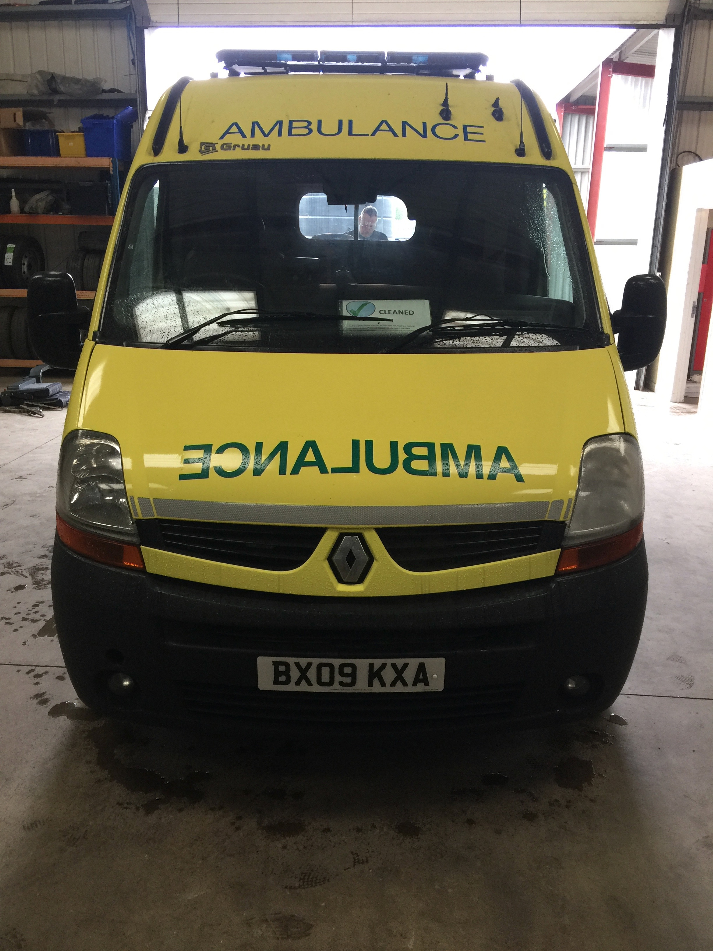 Lot 2 - Renault Master standard body HDU ambulance Registration No BX09 KXA, 336175 recorded miles, date