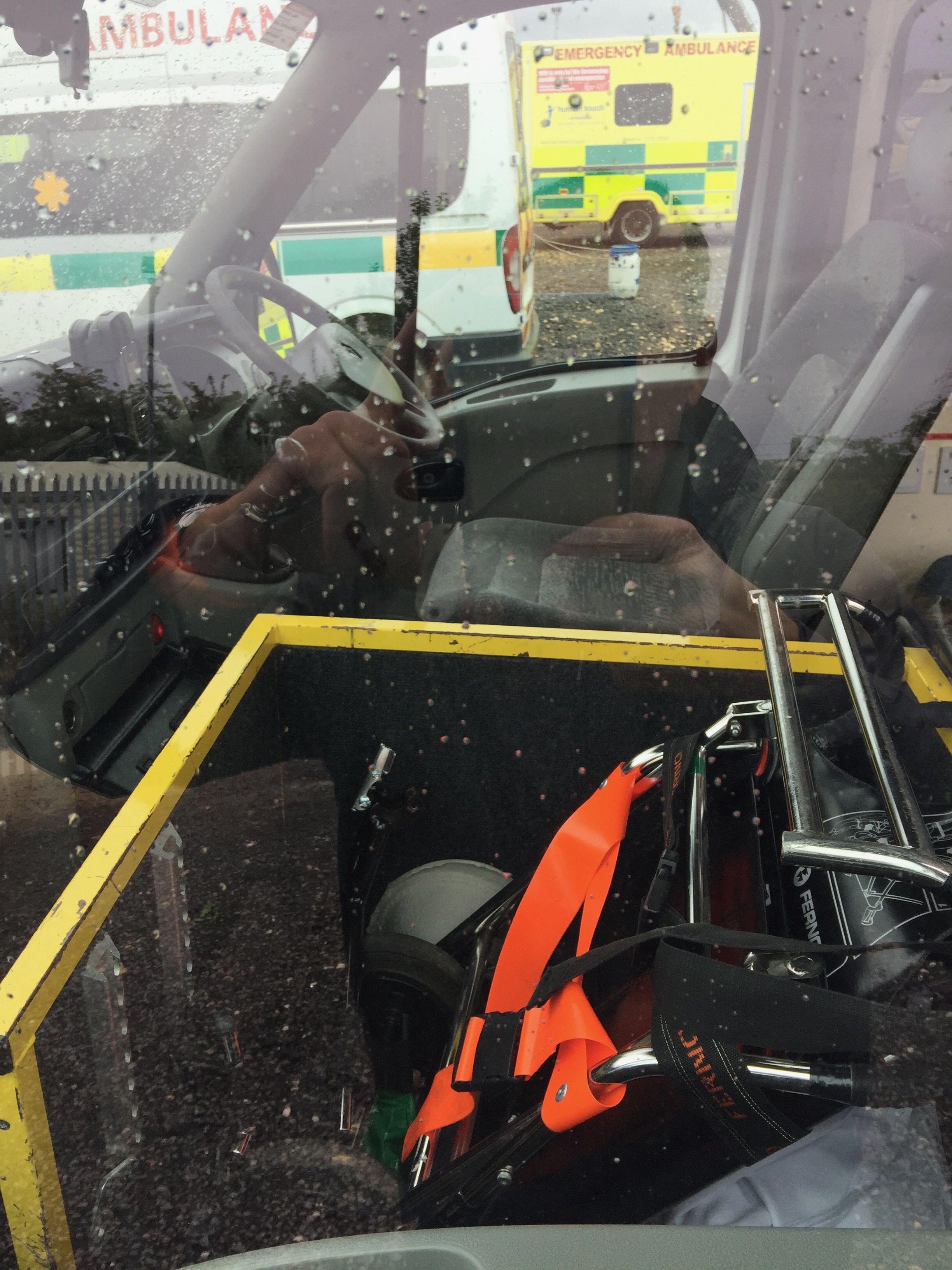 Lot 11 - Renault Master standard body patient transfer ambulance Registration NoGN05 SXD, recorded miles