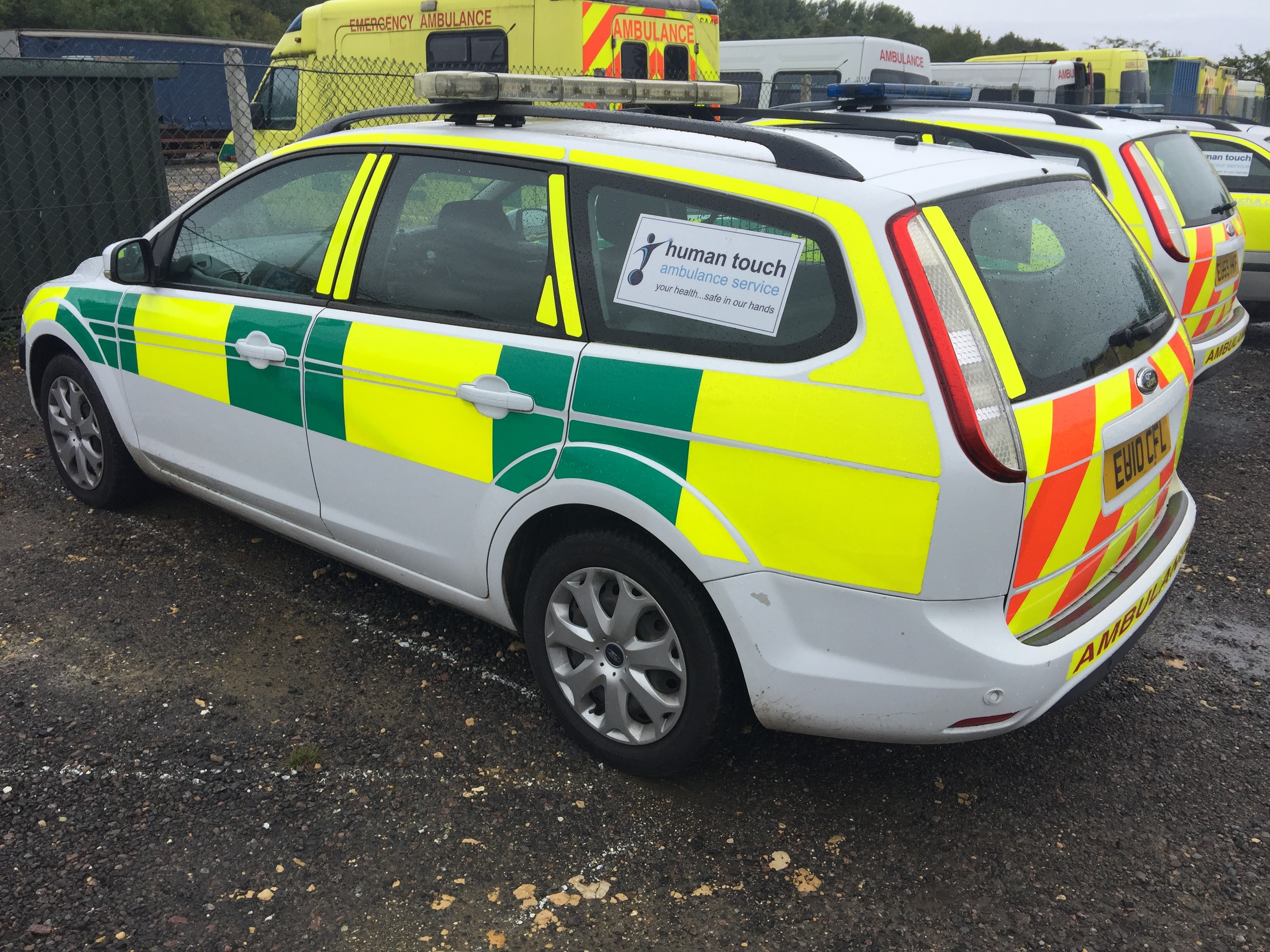 Lot 13 - Ford Focus TDCi estate rapid response vehicle, registration No EU10CFL, 167167 recorded miles,