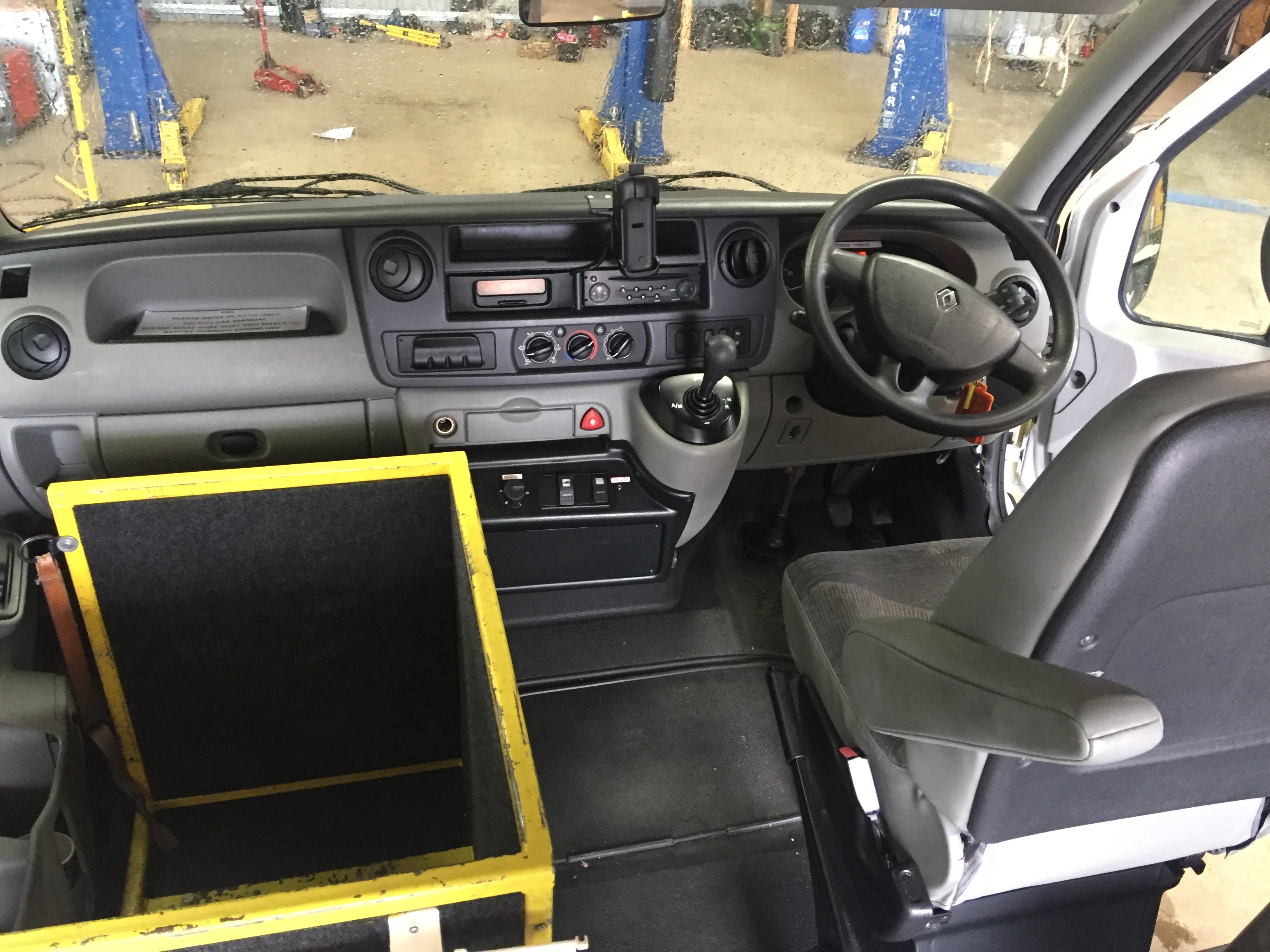 Lot 6 - Renault Master standard body patient transfer ambulance Registration No YX08 HZL, 156907 recorded