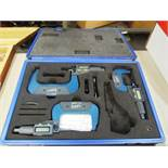 IGaging (3) Piece 1''-2'' - 3''-4'' Digital Micrometer Set