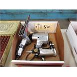 Dynabraid Pneumatic Belt Sander, (1) File & (1) 1/2'' Impact Gun