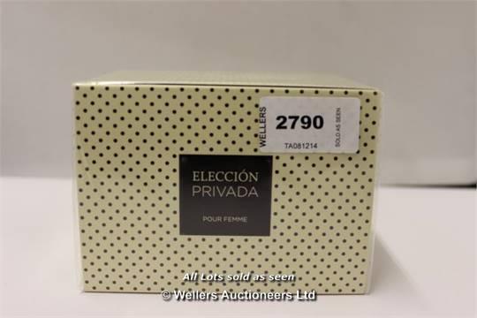 Femme 100ml GradeUnclaimed Privada Eleccion Property Puor Edp 6gyvfI7Yb