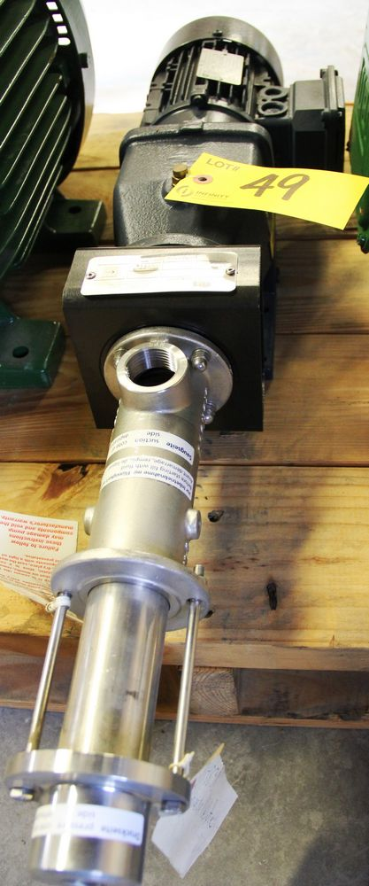 Lot 49 - PFE ELECTRIC TRANSFER PUMP