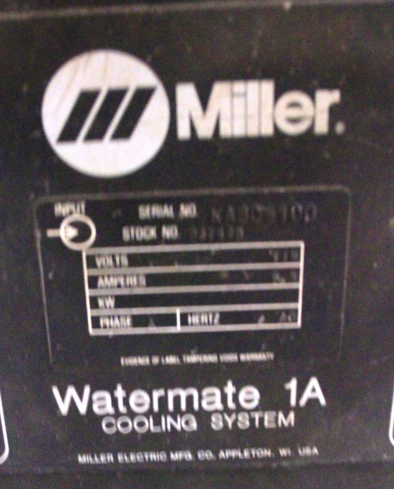 Lot 39 - MILLER WATERMATE 1A WATER COOLING SYSTEM