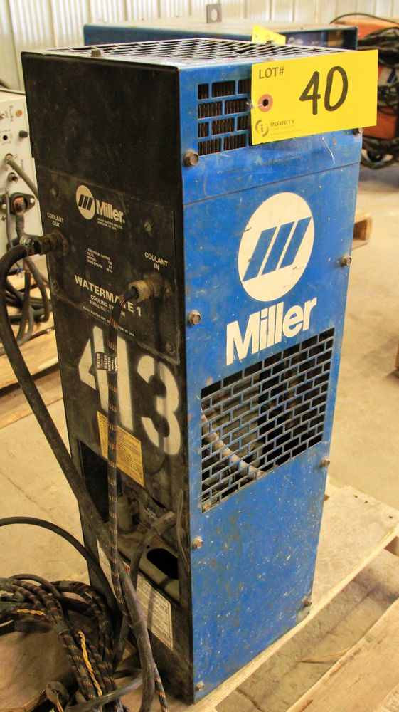 Lot 40 - MILLER WATERMATE 1A WATER COOLING SYSTEM