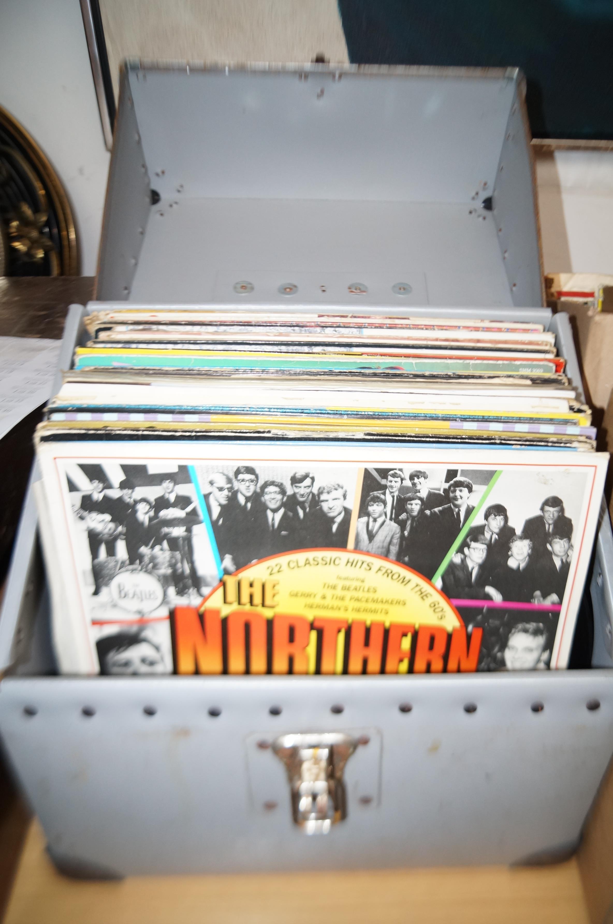 Lot 10 - Box of LP's