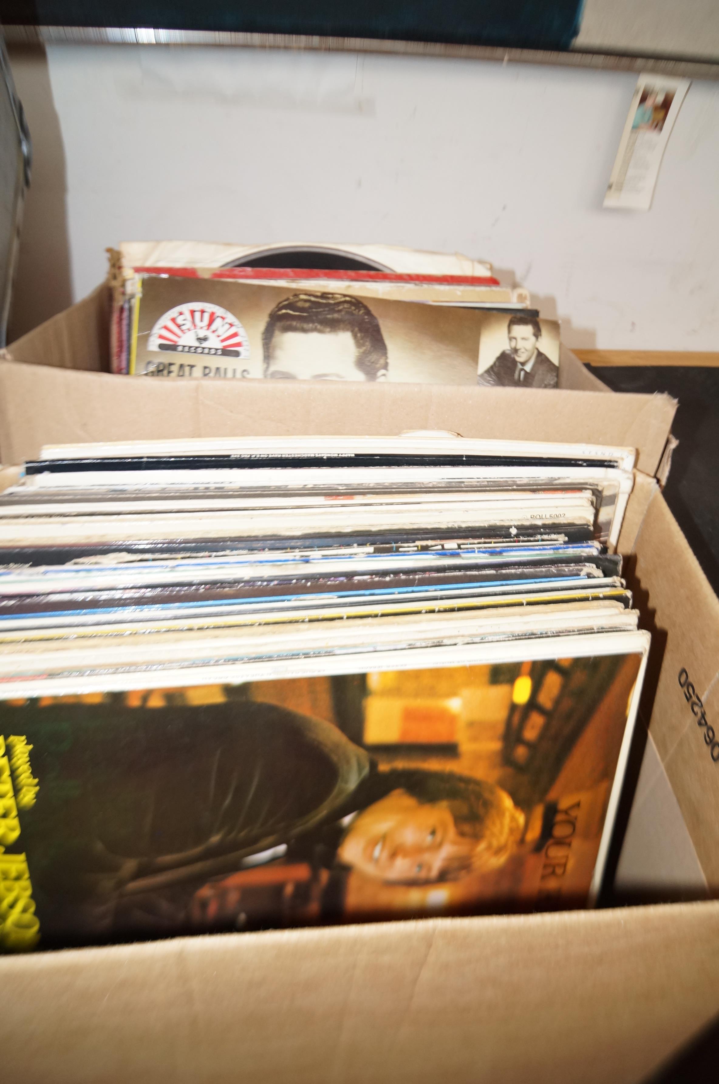 Lot 11 - 2 Boxes of LP's