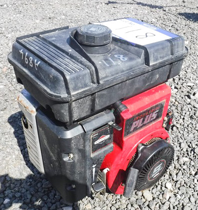 Briggs and stratton industrial Plus 5hp Manual