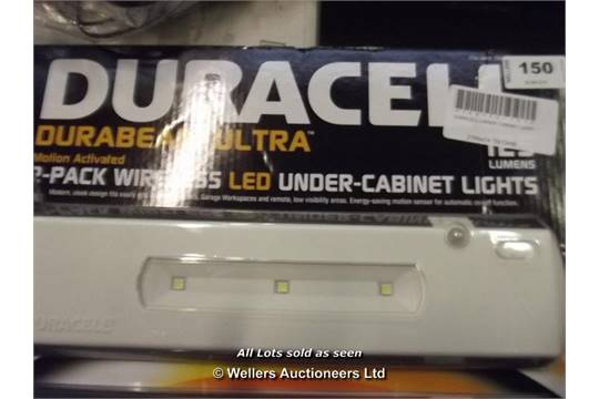 *DURACELL UNDER CABINET LIGHT (785432)[166152 131