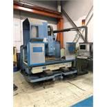 "OKK MCV 550 CNC VERTICAL MACHINING CENTER WITH MELDAS CNC CONTROL, 22"" X 51"" T-SLOT TABLE, TRAVELS"