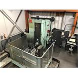 "KURAKI KBT-11W CNC TABLE TYPE HORIZONTAL BORING MILL WITH FANUC 16M CNC CONTROL, 4.33"" SPINDLE"