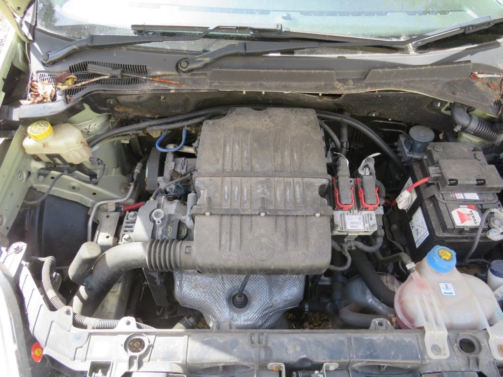 Lot 1 - FIAT GRAND PUNTO DYNAMIC 8V AUTOMATIC, FIVE DOOR HATCHBACK, 1368CC PETROL ENGINE, WF56PXD REGISTERED