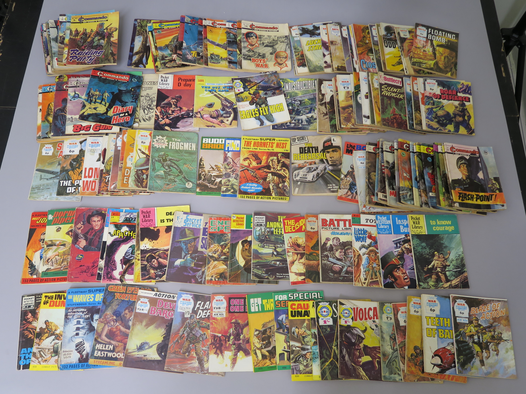 Lot 246 - Collection of Combat Picture Library comics, Commando War Stories, War Picture Library,