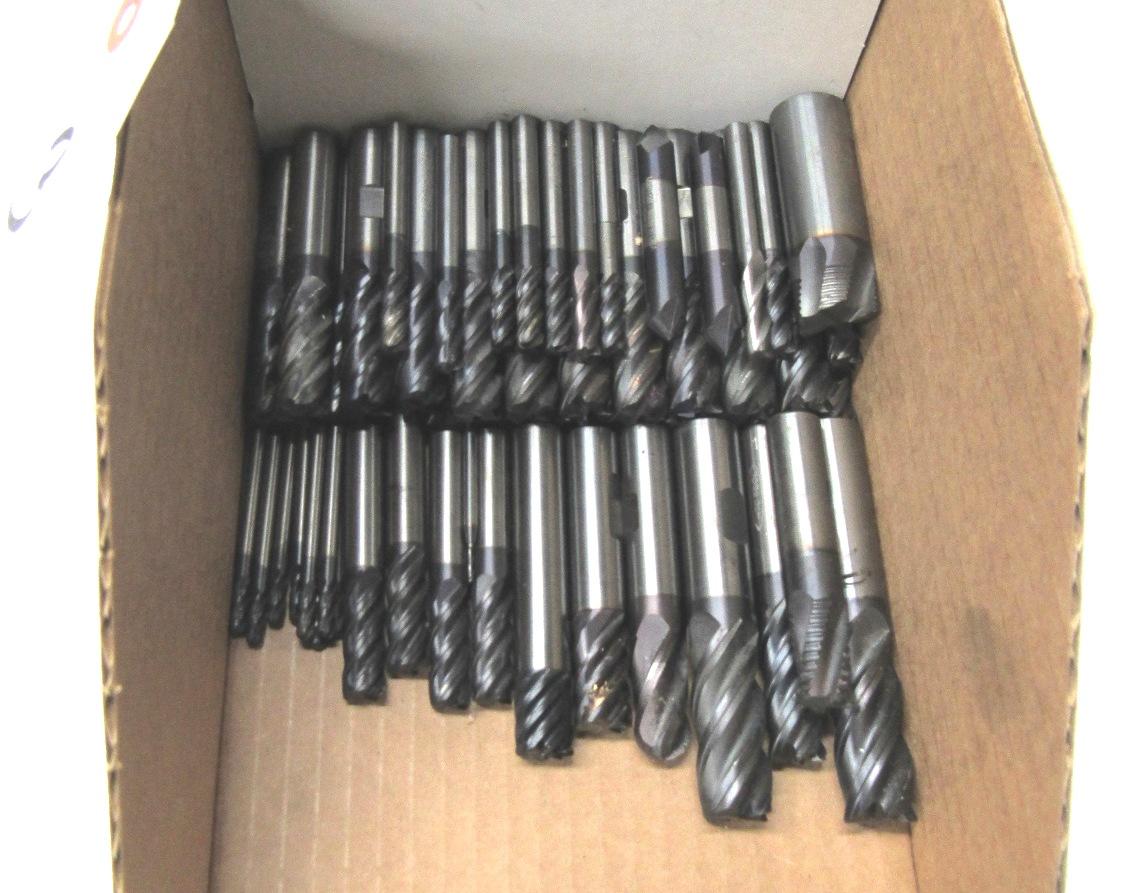 Lot 3 - (54) Asst. Carbide Endmills
