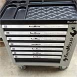 + VAT Brand New Seven Drawer Locking Garage Tool Cabinet With Lockable Castors-Seven EVA Drawers Of