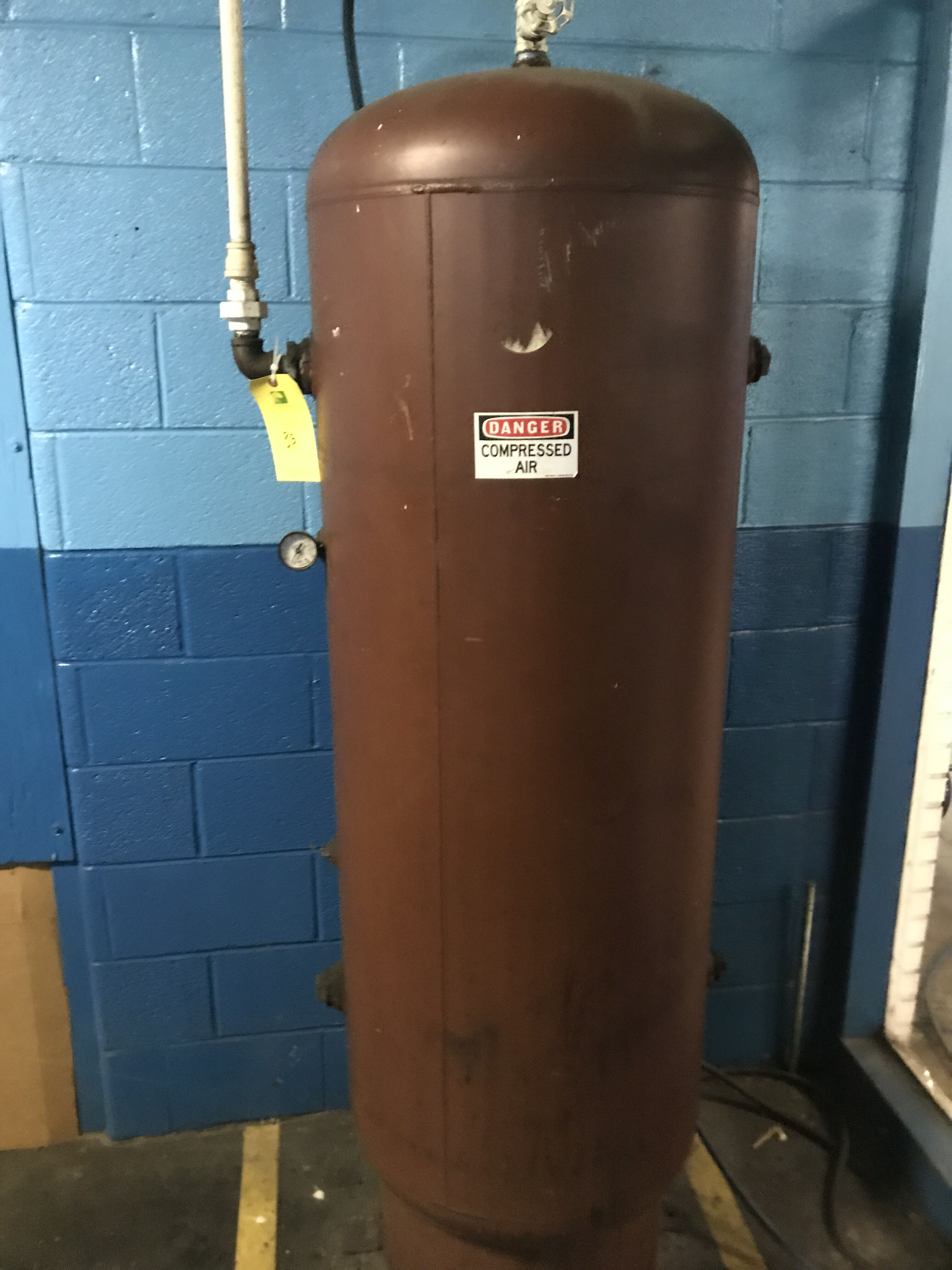 Compressed Air Tank 130 Gallon - Image 2 of 2