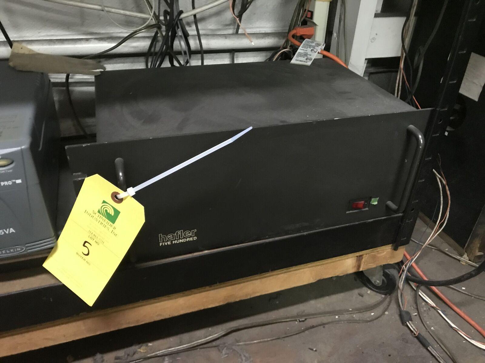 Hafler 500 Power Amplifier, 500 Watts