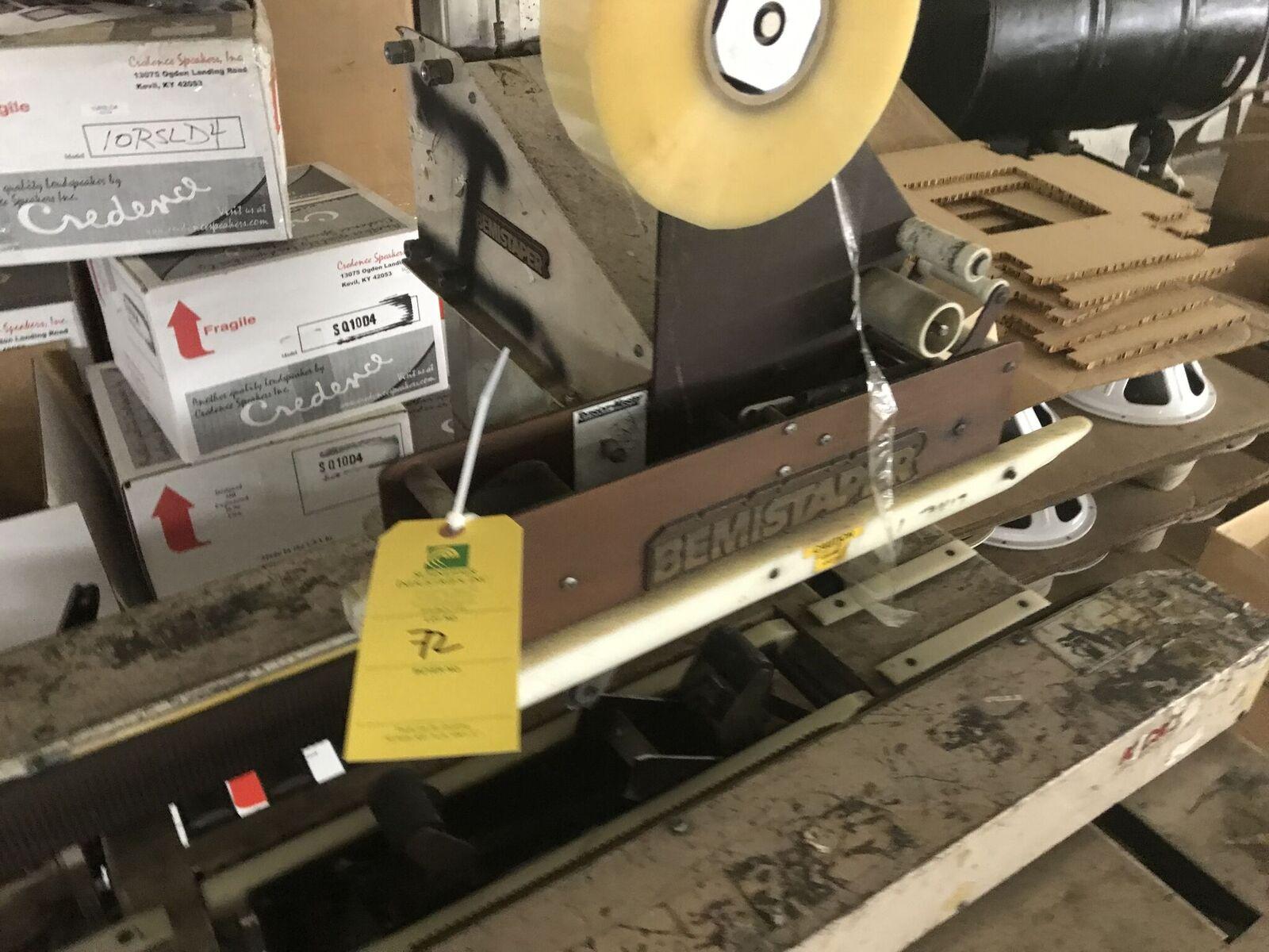 Lot 72 - Bemistaper, Automatic Box Taping Machine