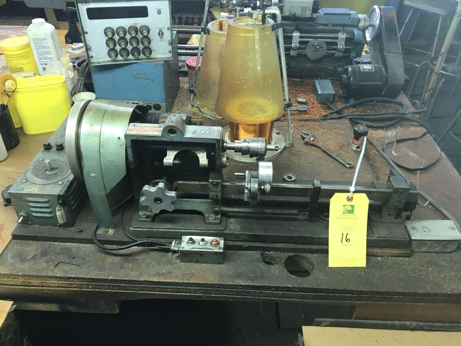 Geo. Stevens Voice Coil Handwinder, Model #225AMV, S/N #21291