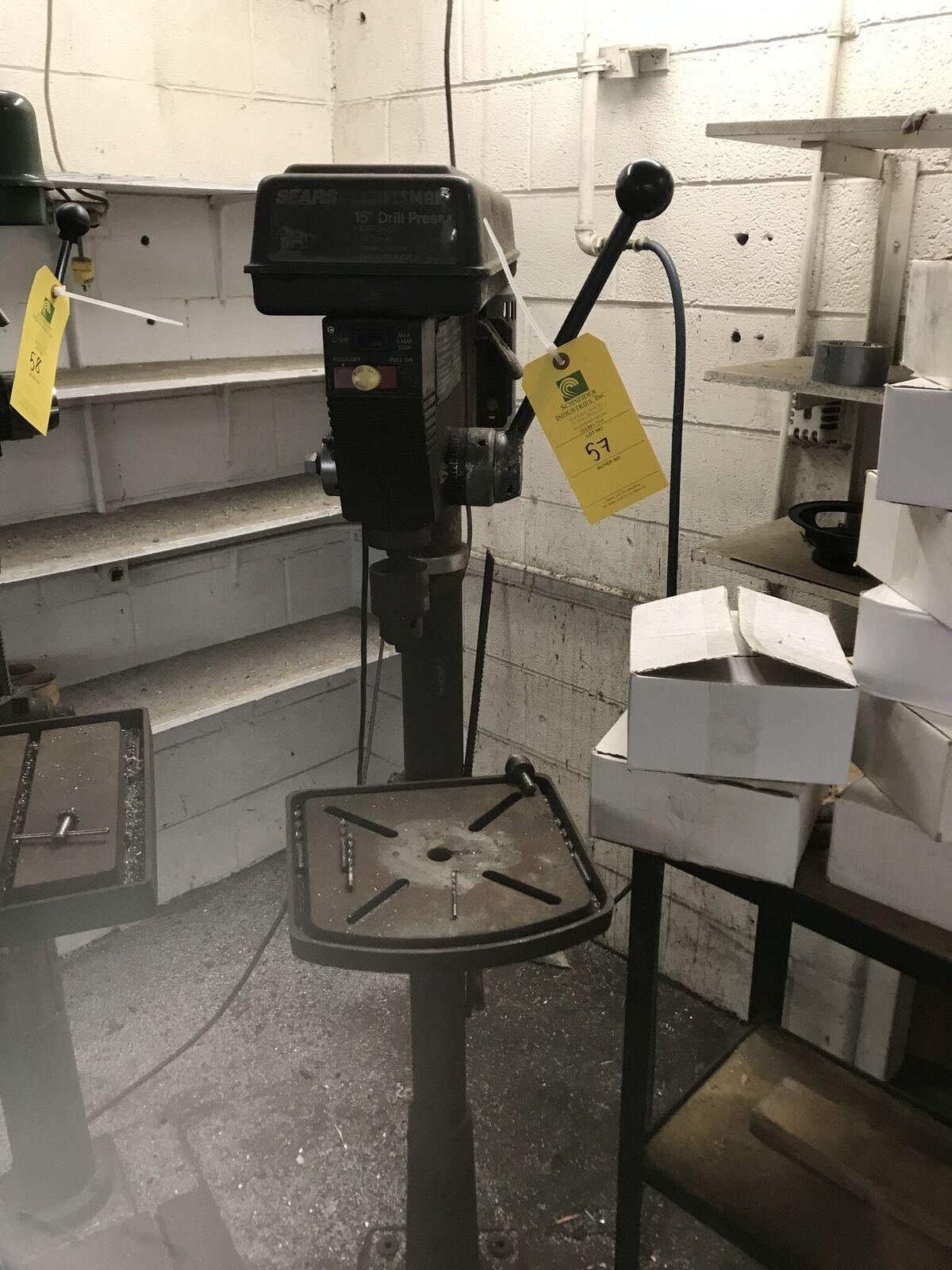 "Craftsmen 15"" Drill Press"