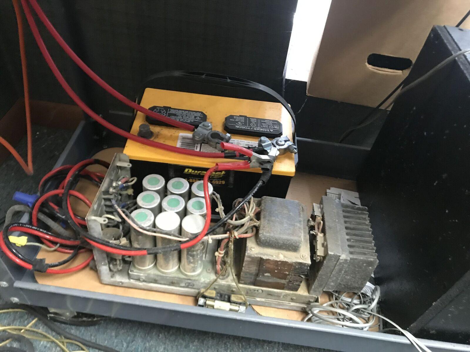 Lot 11 - Car Audio Simulator, Includes Battery & Amp.