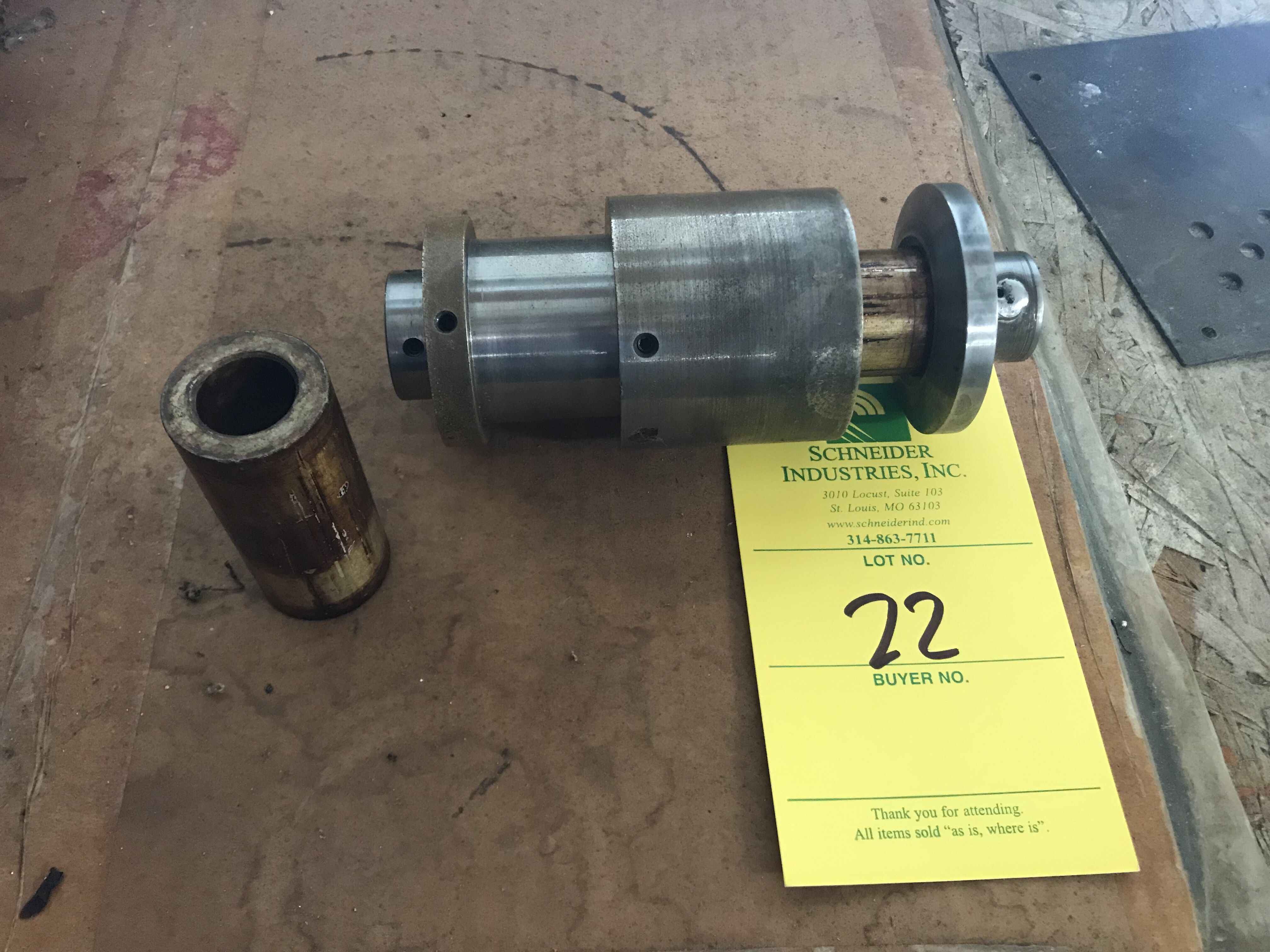 Lot 22 - 1.27 inch Voice Coil Tooling & All 1.27 inch Mandrels