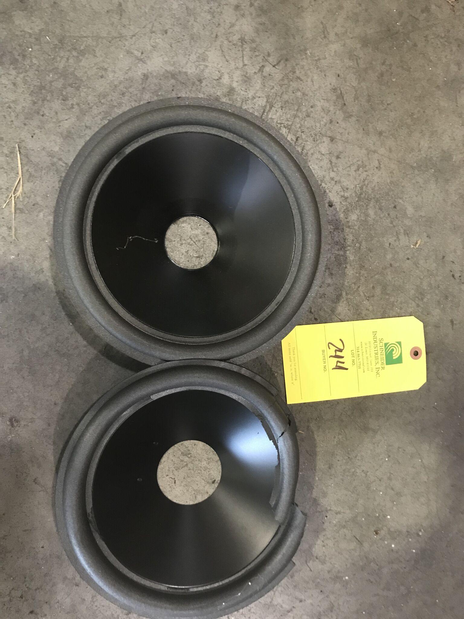 Lot 244 - JL Exclusive Cones (10W1-1) qty. 700 & JL (10W1-8) qty. 450