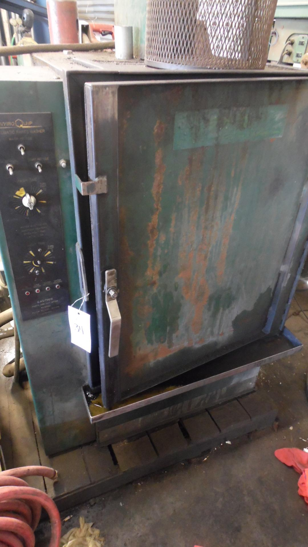 ENVIRO QUIP AUTOMATIC PARTS WASHER