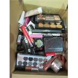 Circa. 200 items of various new make up acadamy make up to include: correct and conceal palette,