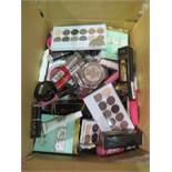 Circa. 200 items of various new make up acadamy make up to include: kiss you lip polish, eyeshadow