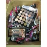 Circa. 200 items of various new make up acadamy make up to include: ultimate undressed palette,