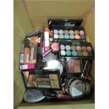Circa. 200 items of various new make up acadamy make up to include: eye+face devotion eyeshadow