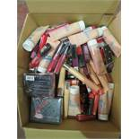 Circa. 200 items of various new make up acadamy make up to include: stylebrows essential brow kit,
