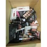 Circa. 200 items of various new make up acadamy make up to include: enchanted 5 silk eye shadow