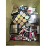Circa. 200 items of various new make up acadamy make up to include: sweet sheen lip balm, 6 shade