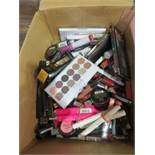 Circa. 200 items of various new make up acadamy make up to include: lipstick, power brow long wear