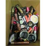Circa. 200 items of various new make up acadamy make up to include: whipped velvet lip liner, skin