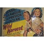 Lot 343 - Wild Harvest:  Film poster 75 x 102cms.
