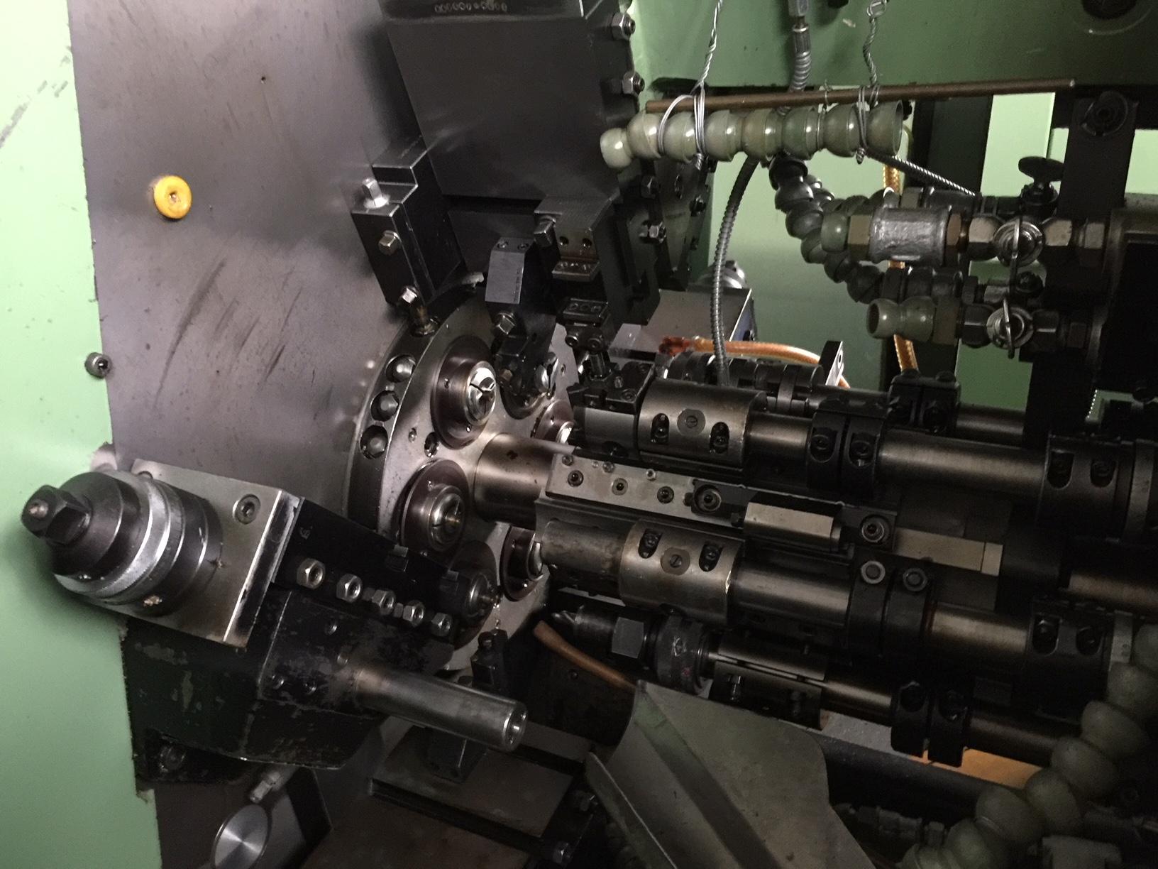 Lot 22 - Schutte Model SF 13-6, 6-Spindle Automatic Lathe