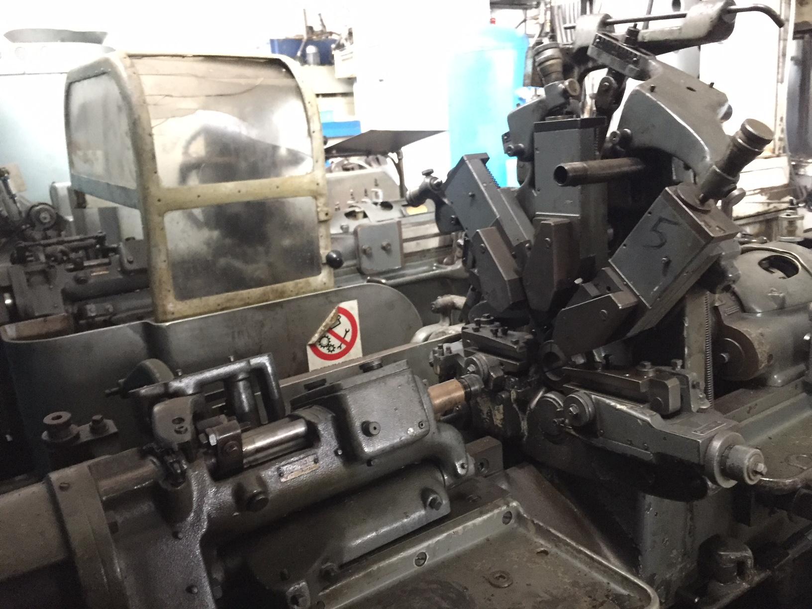 Lot 6 - Tornos Model RR 20 Single Spindle Automatic Lathe