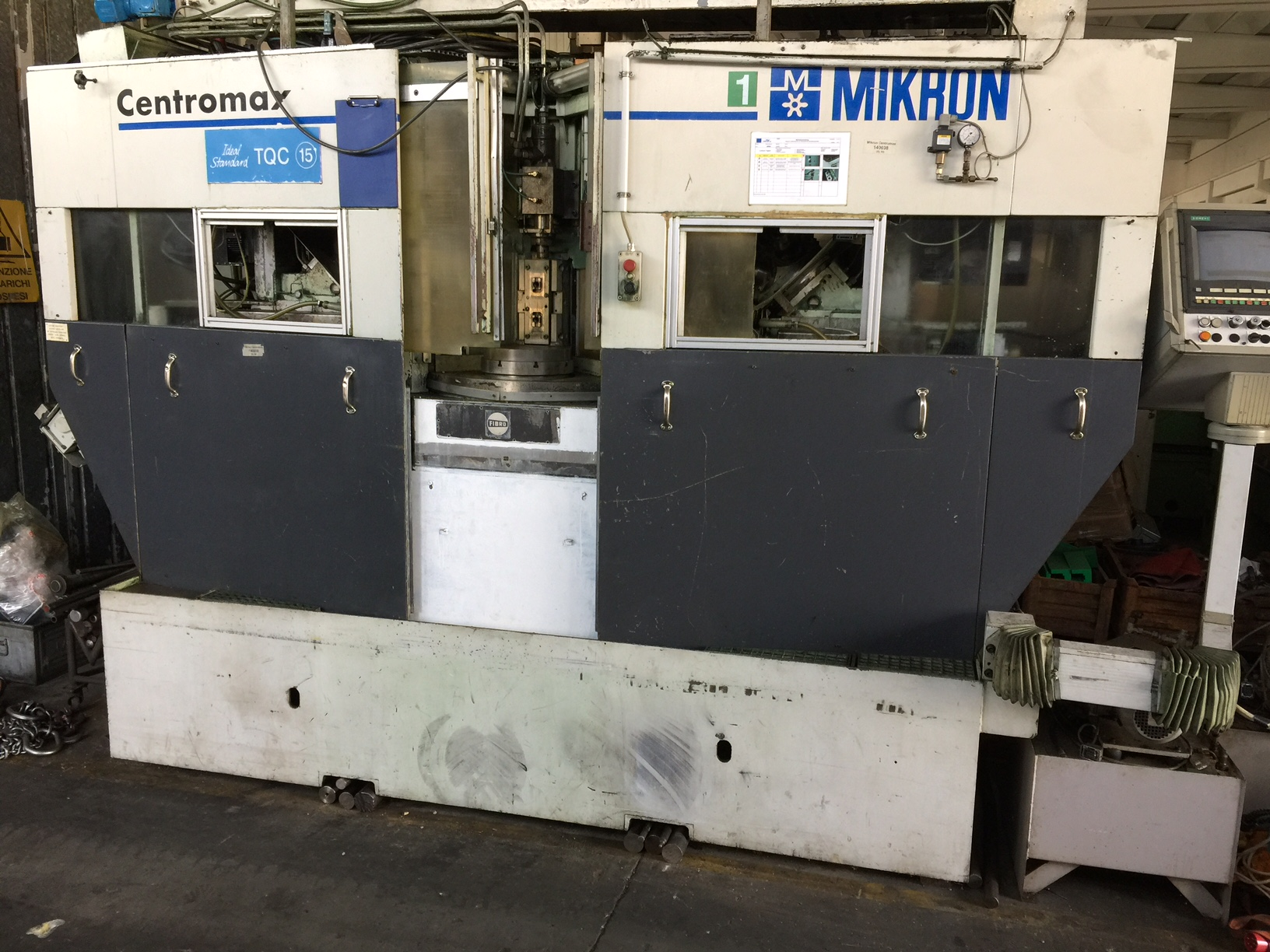 Lot 40 - Mikron Model CENTROMAX CNC Transfer Machine