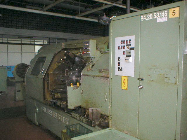 Lot 18 - Gildemeister Model AA 48-8, 8-Spindle Automatic Lathe