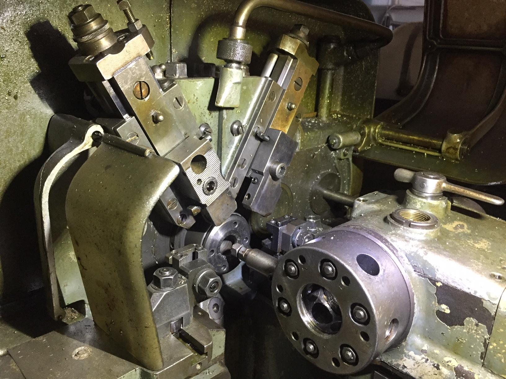 Lot 49 - Index Model DG 12-2, Single Spindle Automatic Lathe